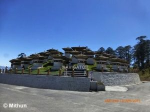 Dochu-La (Pass) - Bhutan tour package from Bangalore