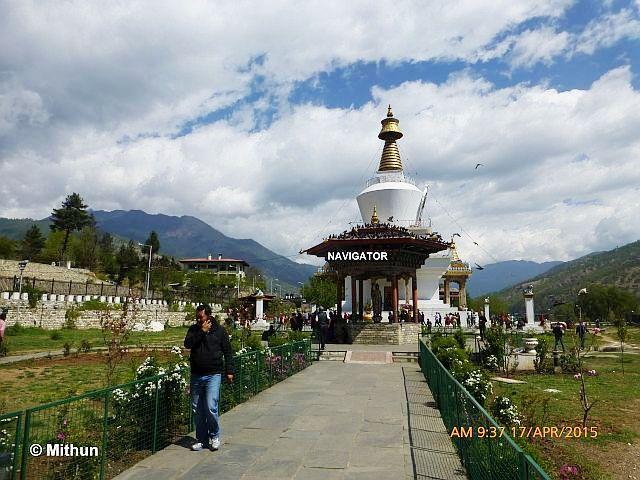 Memorial Chorten -Thimphu, Bhutan