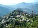 Gangtok city from Ganesh Tok