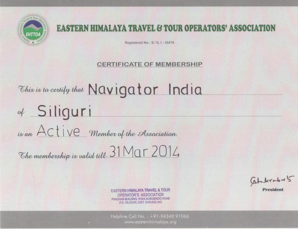 Eastern Himalaya Travel & Tour Operators' Association (EHTTOA)