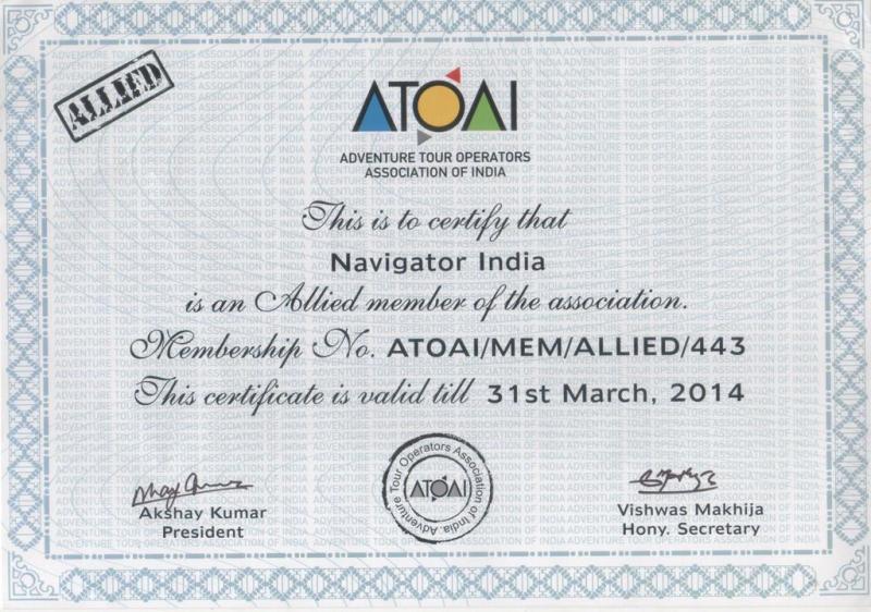 Adventure Tour Operators Association of India (ATOAI)