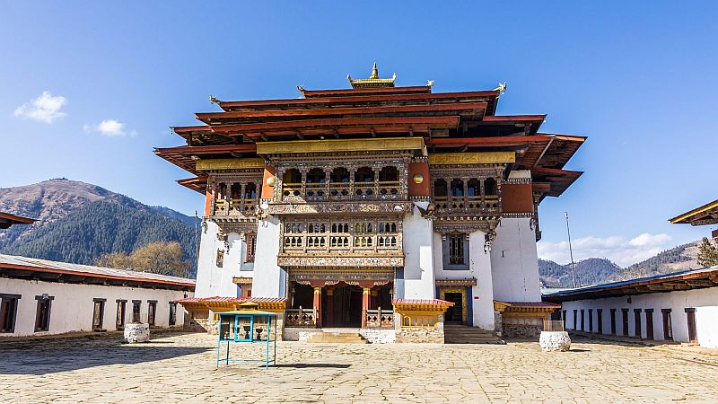 Gangtey Monastery- Bhutan package from Delhi