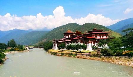 Punakha Dzong - Bhutam